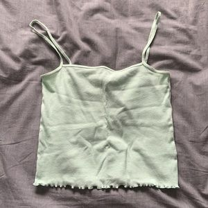 HM Mint Green Cropped Cami